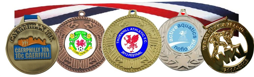Medals Sport or Activity or Your Logo FREE RIBBONS