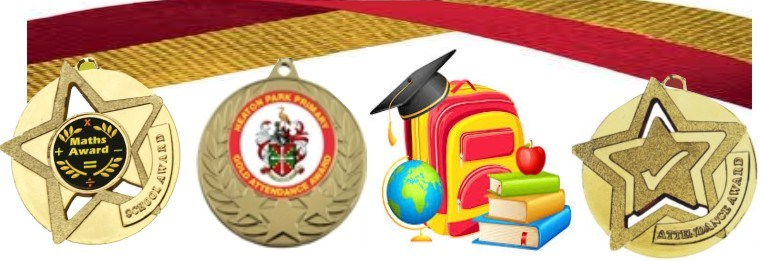 School Medals for Achievement and Sport