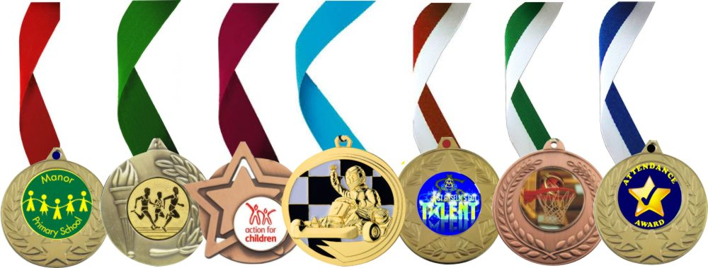 Medals with Logo or your Sport or Activity
