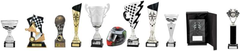 Chequered Flag Themed Motorsport Awards
