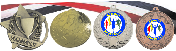 Sports Day Medals FREE Ribbons